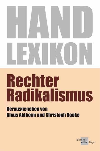Handlexikon Rechter Radikalismus (2017)