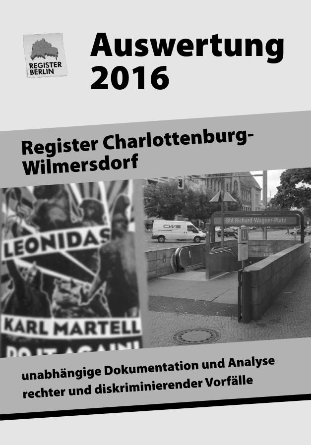 Register Charlottenburg-Wilmersdorf - Auswertung 2016 (2017)