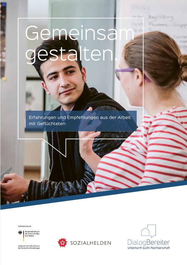 Gemeinsam gestalten - Erfahrungen und Empfehlungen aus der Arbeit mit Geflüchteten (2018)