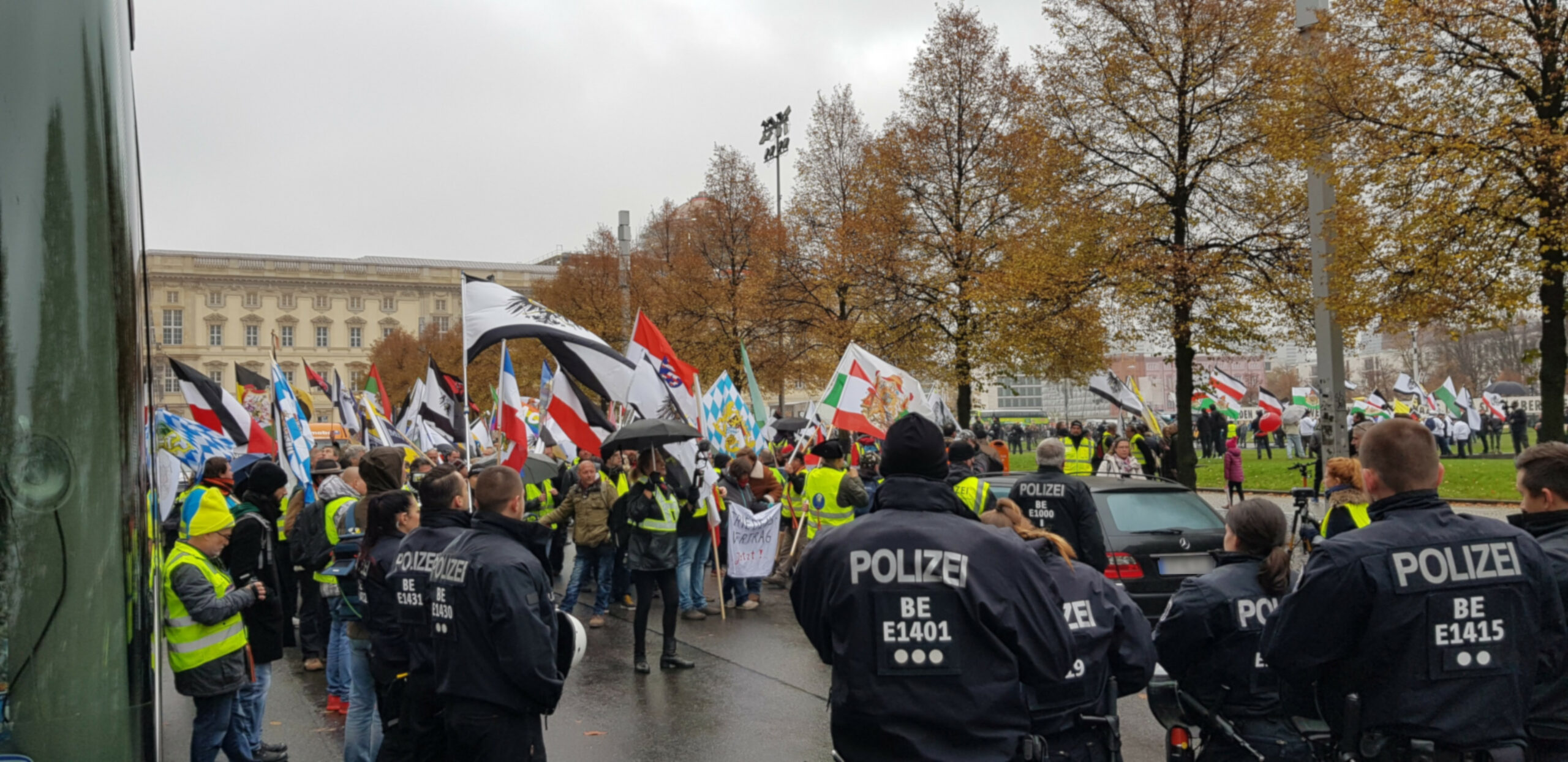 Geplante Versammlungen von Reichsbürgern und anderen rechtsextremen Gruppierungen am 20. März in der Berliner Innenstadt